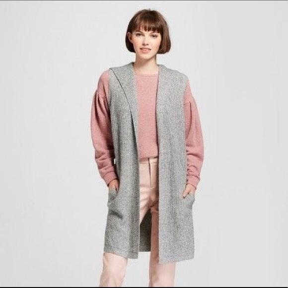 Target Sweaters Plus Size A New Day Sleeveless Cardigan Xxl Poshmark